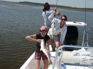 fishing savannah, fish savannah, redfish savannah, one more cast charter