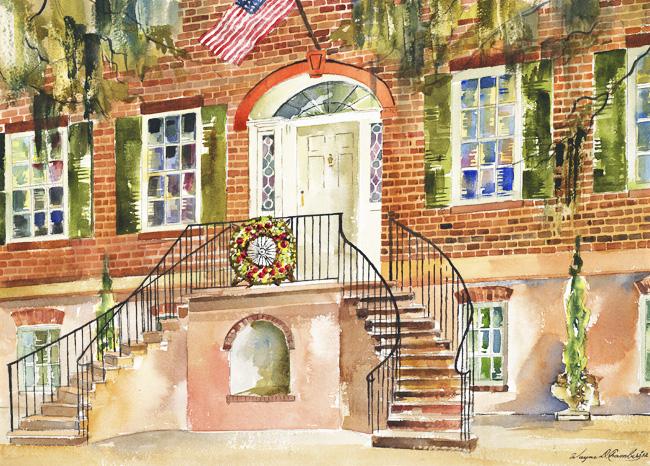 Savannah Holiday Home Tours