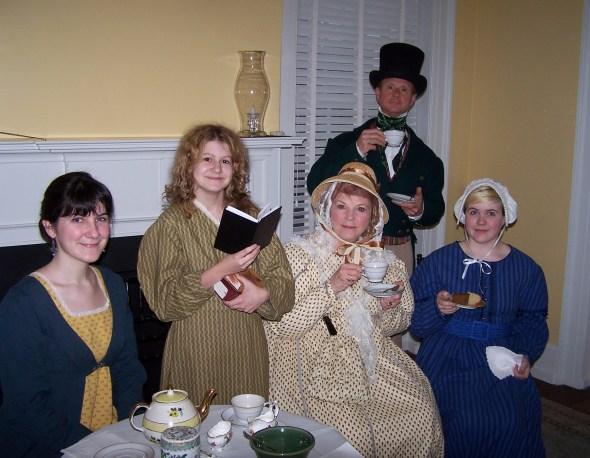 Tea at Mrs. Davenport's