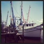 shrimp boats in Darien